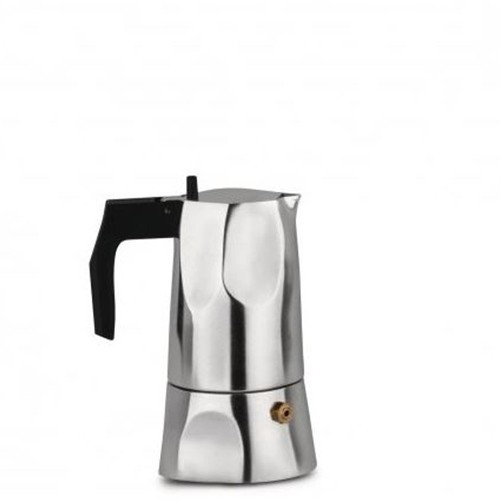 Caffettiera espresso 1 tazza Alluminio Ossidiana MT18/1