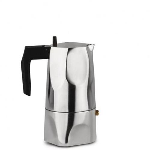 Caffettiera espresso 3 tazze Alluminio Ossidiana MT18/3