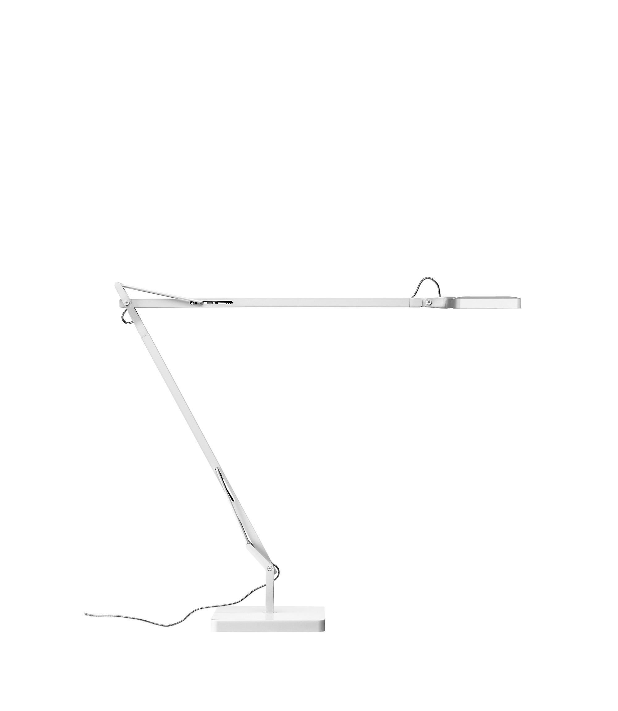 Lampada da tavolo Kelvin Led Base Bianco Lucido F3311009