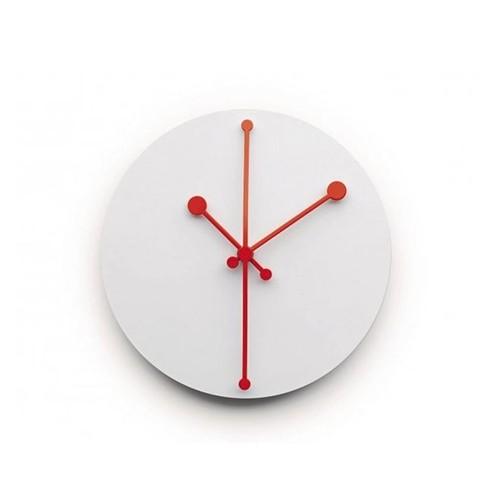 Orologio da parete Super White Dotty Clock ABI11 W