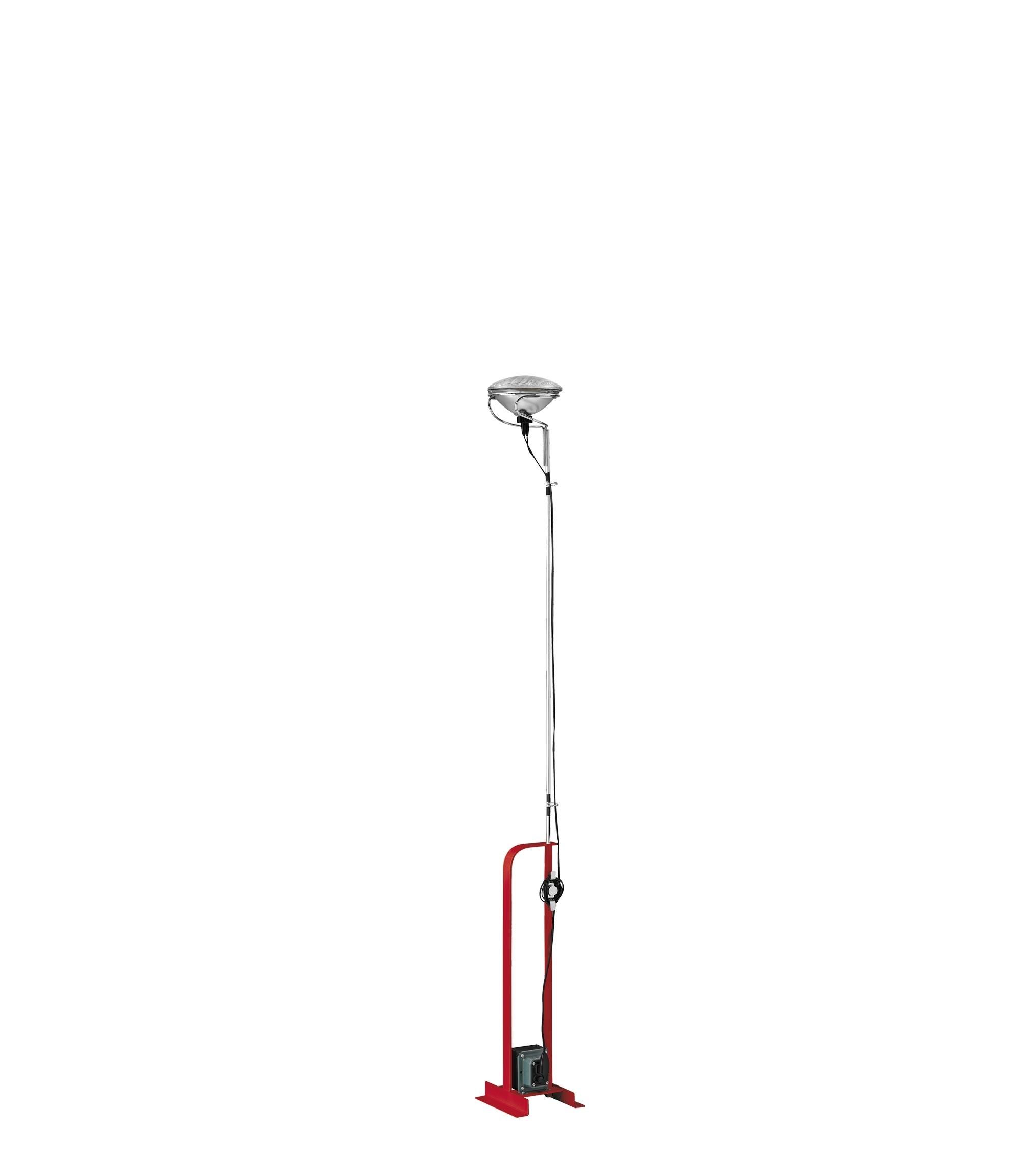 Lampada da Pavimento Toio Rosso F7600035