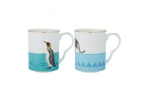 Set due mug Cheetah e Penguin A22002003