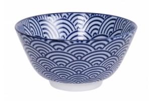 Ciotola per Riso Nippon Blue Wave 8078