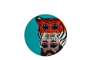 Sottobicchiere Mulga The Artist Tiger Man DU0192