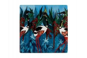 Sottobicchiere Jabirus Blue Melanie Hava DU0250