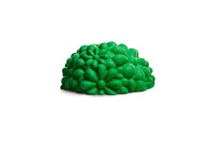 Pouf Green Bloom G14150