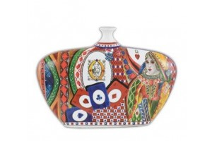 Vaso Bottiglia Regina di Cuori VABO1.REG01