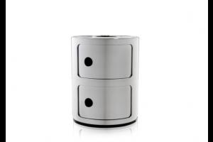 Mobile Contenitore Componibili Metal 2 Elementi 5966