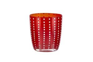 Set 6 Bicchieri Acqua Tumbler Carnival Red 720LS0902