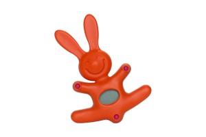 Timer/Orologio elettronico Arancio Il coniglio Mattia MDR09 O