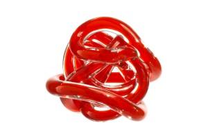 Il Nodo dell'Amore Arancio 8 cm OL01644