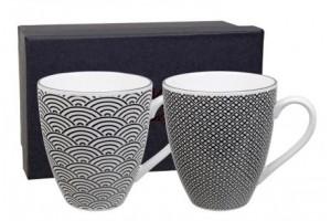 Set 2 Mug Nippon Black Wave 8283