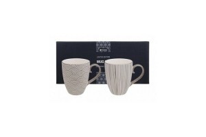 Set 2 Mug Limited Nippon Platinum 15956