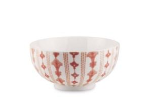 Tazza Bowl Rosa Tiles Baci Milano TBOW.TILE07