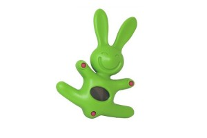Timer/Orologio elettronico verde Il coniglio Mattia MDR09 GR