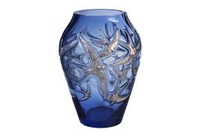 Vaso grande cristallo Blu Rondini 10645200