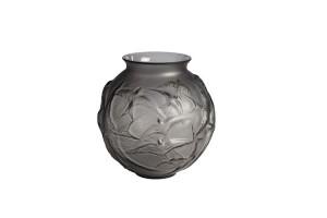 Vaso rotondo cristallo Grigio Rondini 10645100