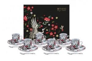 Set Espresso Mythical Crane 18 pz 16686