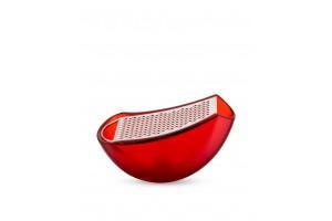 Grattugia con raccoglitore Rosso Parmenide AARU01 R