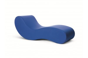 Chaise Longue Alvar Blu G19120
