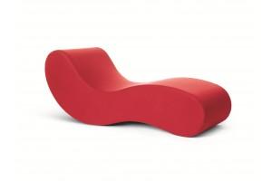 Chaise Longue Alvar Rosso G19124