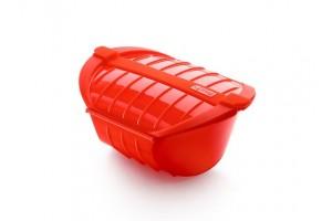 Cocotte XL per cottura a vapore Rosso 1841611