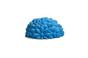 Pouf Blue Bloom G14120