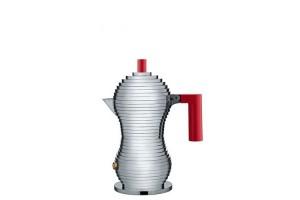 Caffettiera espresso 1 tazza Alluminio Rosso Pulcina MDL02/1 R