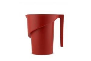 Caraffa graduata Rosso Twisted AGR01 R