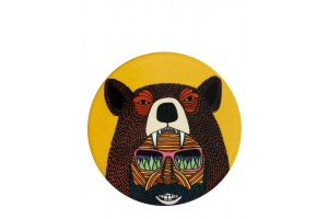 Sottobicchiere Mulga The Artist Bear Man DU0191