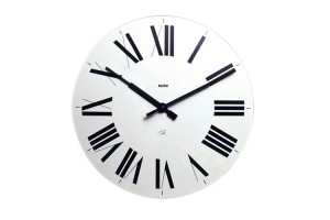 Orologio da parete Bianco Firenze 12 W