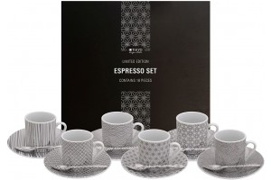 Set Espresso 18 Pezzi Limited Nippon Platinum 15949