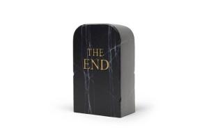 Pouf The End Black G13110