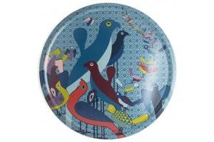 Vassoio Tondo Birds of Paradise TRA650021