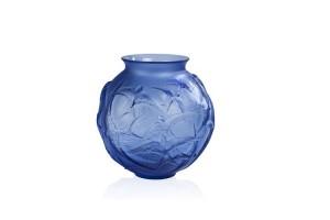 Vaso rotondo cristallo Blu Rondini 10624200