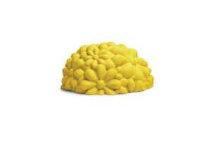 Pouf Yellow Bloom G14130